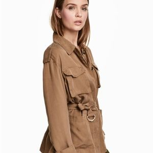 Safari jacket in lyocell by H&M